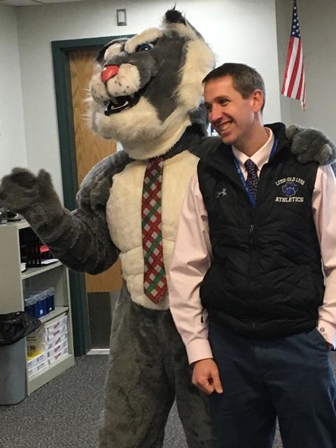Wildcat and Mr. Ventola