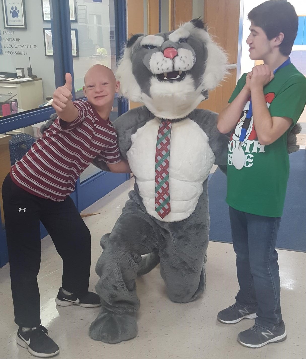 Wildcat and Pete and Nate
