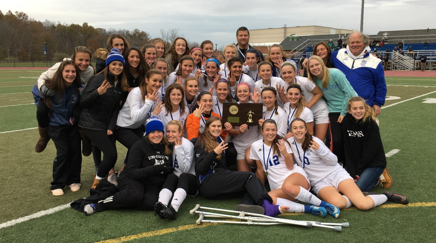 Girls Soccer Team 2017 State Champions