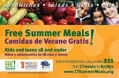 Free Summer Meals Information