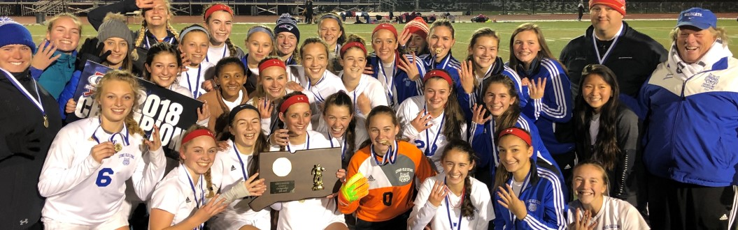 Girls Soccer 2018 State Champions